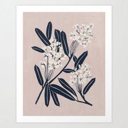 Boho Botanica Art Print