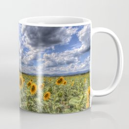 Sunflower Summer Field Coffee Mug