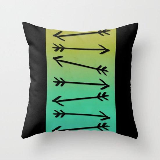 Arrows Throw Pillow