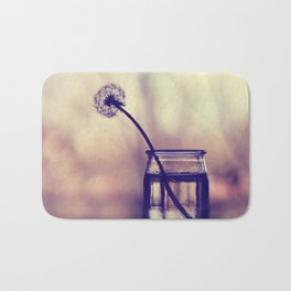 dandelion morning Bath Mat