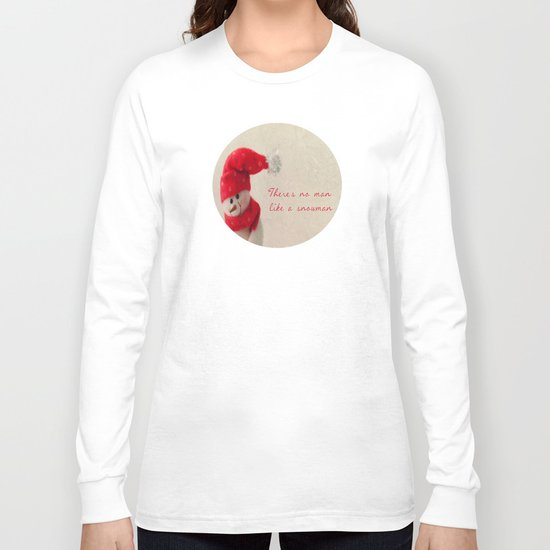 Mr Snowman (He's back)   Long Sleeve T-shirt