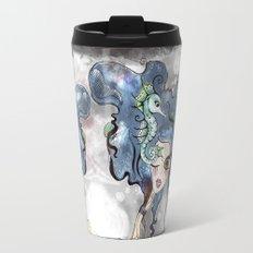 the deep girl-1 Travel Mug