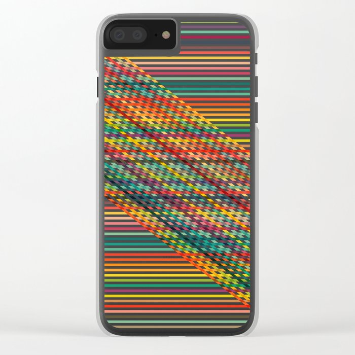 Ovrlap Clear iPhone Case