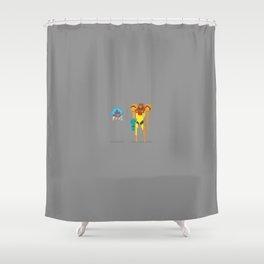 Enemies Shower Curtain