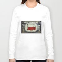 poland Long Sleeve T-shirts featuring Flag of Poland by lanjee