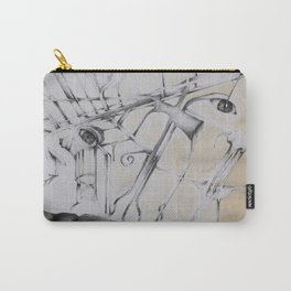 An Abstract Perspective  Carry-All Pouch