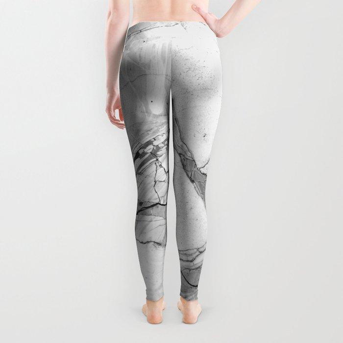 Grey marble Leggings