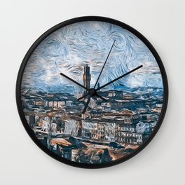 Florence, the cradle of the Renaissance Wall Clock
