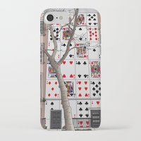 house of cards iPhone & iPod Cases featuring House of Cards by AdamSteve