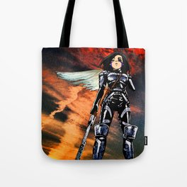 Ouroboros – Battle Angel Alita Tote Bag