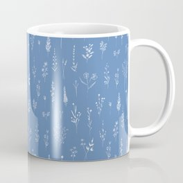 Wildflowers blue Coffee Mug
