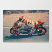 moto Canvas Prints featuring Moto by AkaisColoraos