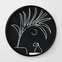 Minimal Abstrat Art 12 Wall Clock