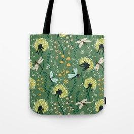 Dandelion Day Tote Bag
