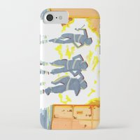 heroes iPhone & iPod Cases featuring Heroes by SquidInkDesigns