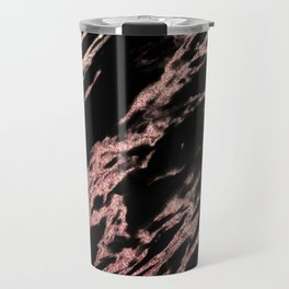 Darkness rose gold Travel Mug