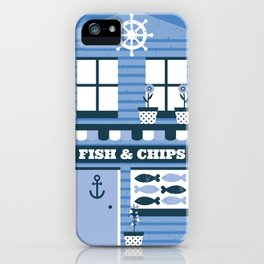 Fish & Chips iPhone Case