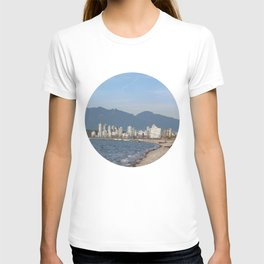 View of Vancouver from Kits Beach T-shirt