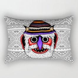 Bucovina Mask / Masca de Bucovina Rectangular Pillow