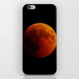 Moon eclipse 2018 iPhone Skin