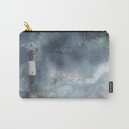 Night Storm at Tybee Lighthouse Carry-All Pouch