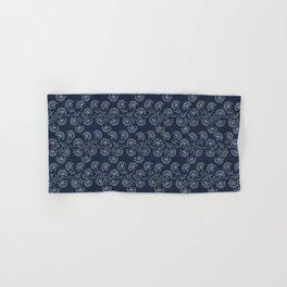 Georgian Floral in Classic Blues Hand & Bath Towel