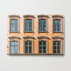 Eight Windows Metal Print