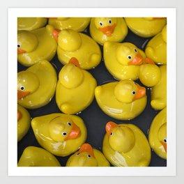 Quackers Art Print