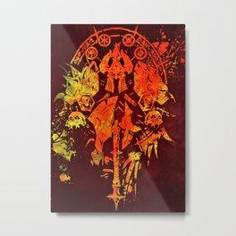 Warcraft *Death Knight Crest* Metal Print