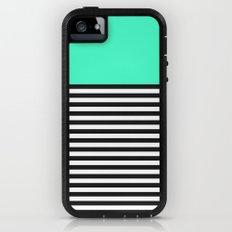 STRIPE COLORBLOCK {MINT/TEAL} Adventure Case iPhone (5, 5s)