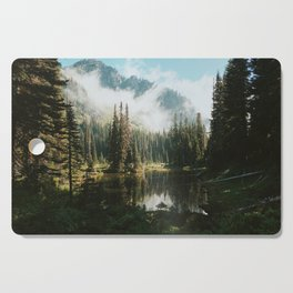 Quiet Washington Morning Cutting Board