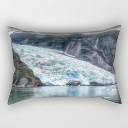 Portage Glacier - Alaska Rectangular Pillow