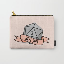 Well, Shit D20 Carry-All Pouch
