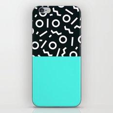Memphis pattern 48 iPhone & iPod Skin