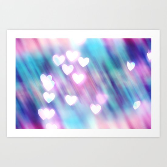 Your Love is Sweet Like Candy Art Print