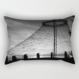 Unknown Spaces Whirled Rectangular Pillow