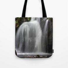 Waterfall at Lumsdale Mill Tote Bag