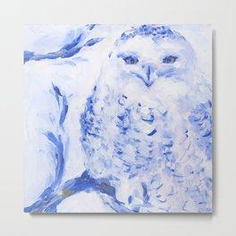 Insight: Snowy Owl Metal Print