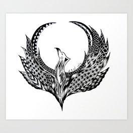 Phoneix Art Print