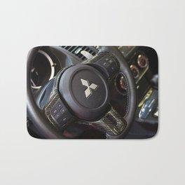 Mitsubishi Lancer Evolution X Wheel Bath Mat