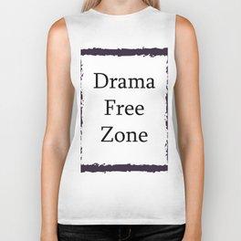 Drama Free Zone Biker Tank