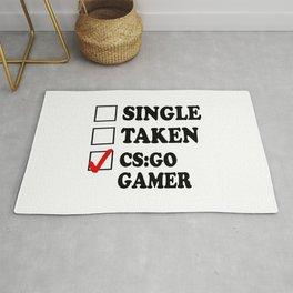 Single Taken CS GO Rug