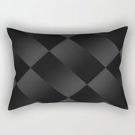 Black on black 2 Rectangular Pillow