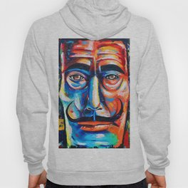 Salvador Dalí Colorful Art Painting Hoody