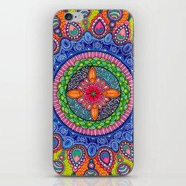 Mardi Gras Mandala iPhone Skin