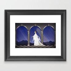 Deco Leia (32x20) Framed Art Print