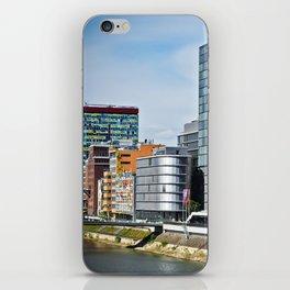 Düsseldorf, Germany Cityscape iPhone Skin