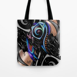 Night Brain Invasion Tote Bag