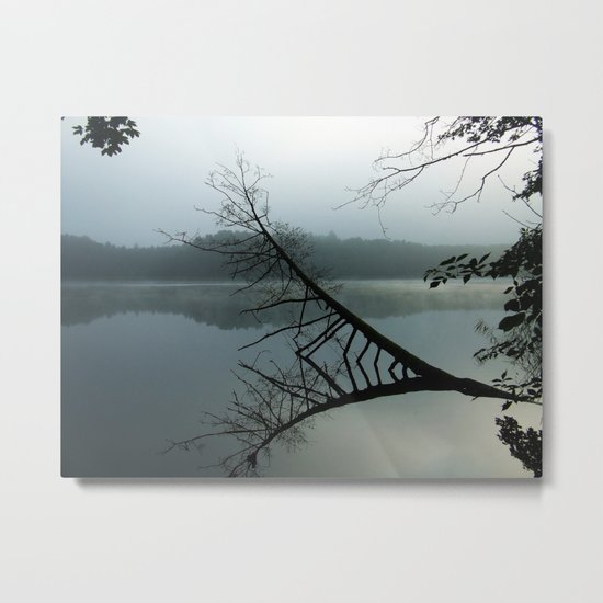 Smokey lake Metal Print