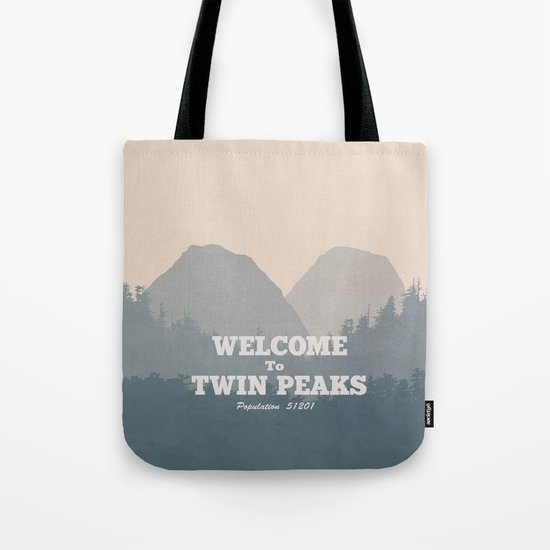 Welcome to Twin Peaks v2 Tote Bag